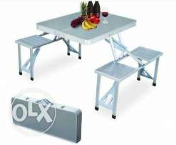 foldable table n chair
