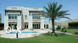 Stunning 5 bedrooms stand alone villa with pool for rent Muscat Hills