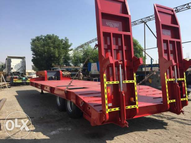 2017 model brand new lowbed trailers with warranty of chassis