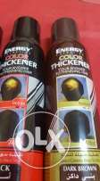energy hair thicker- BLACK AND BROWN