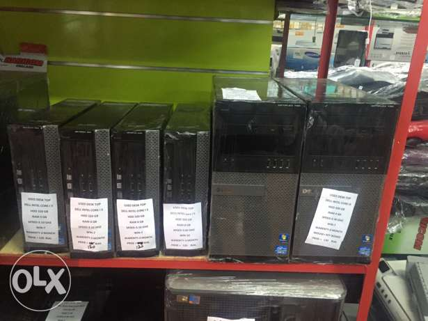"delli5 desktop with 4gb 500gb hdd 22""LCD only 130rials"