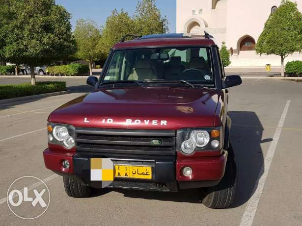 LAND ROVER DISCOVERY 2003 double roof full option with leather seats مسقط -  1