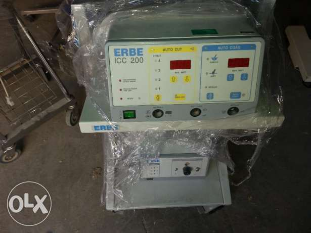 .Erbe electosurgical unit 200 icc watt including foot switch and
