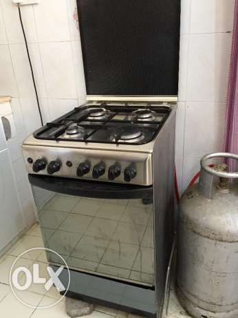 Electric Stove - 4 Burner مسقط -  1