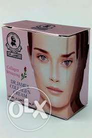 collagen whitening cream for men and women- 4 pieces مسقط -  1
