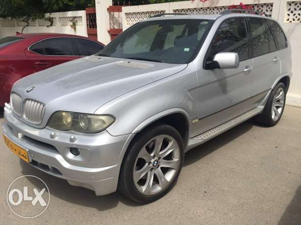 2006 BMW X5 4.8 Top end model Full automatic oman agency