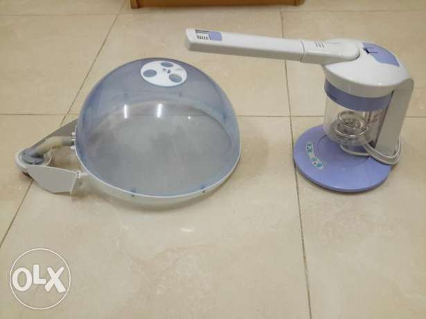 head and facial steamer