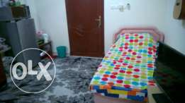 Fully furnished room for rent in south ghubra apposite panorama mall