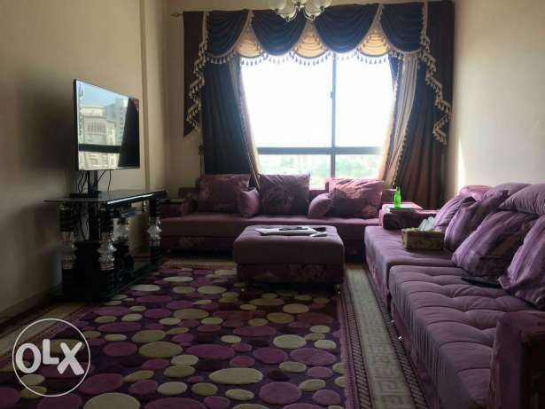 Furnished flat in bawsher مسقط -  1