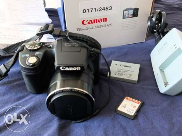 Canon Powershot SX510HS Rarely used
