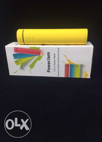 power jam -3 in 1 power bank