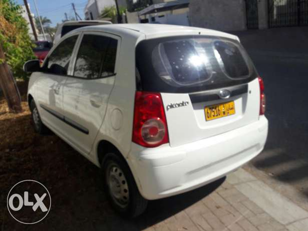 kia picanto 2011 original paint in excellent condition low mileage مسقط -  5