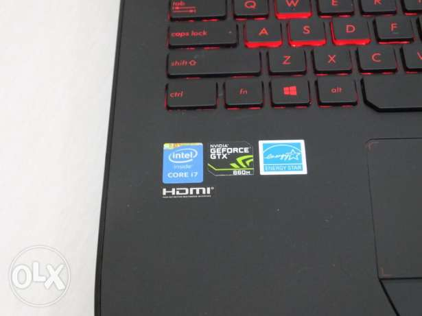 Asus G751J gaming laptop. مسقط -  5