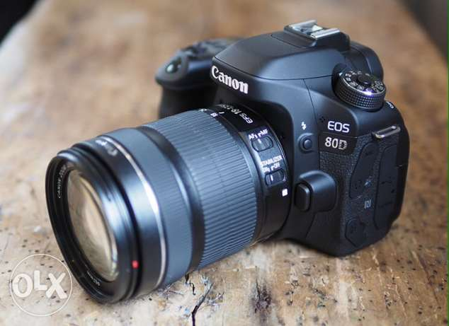 Canon 80D new for urgent sale
