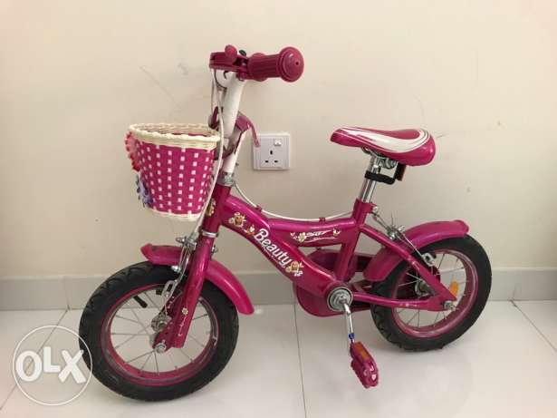 Girls Bicycle Age 4-6 years