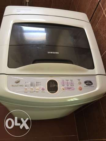 Samsung Washing machine for sale - used السيب -  3