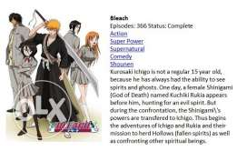 Bleach Anime Video Series Complete Episodes