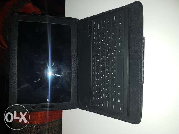 Samsung galaxy tab 7.7 with cover and keyboard for sale