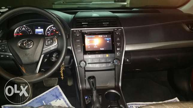 Toyota camry se very clear and GCC السيب -  6
