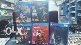 PS4 Brand NEW GAMES bundle