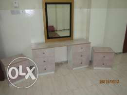 Dressing Table with 2 Side Table Box