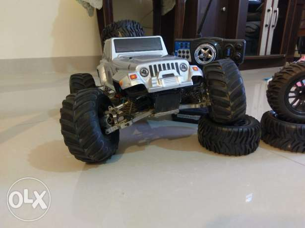 Rc 4WD TRUCK fully customised with metal upgrades