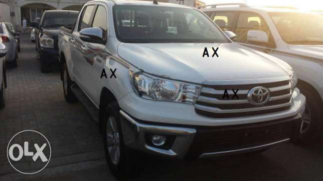 Toyota Hilux 2.7 A/T 4WD - ZERO KMS for sale ! السيب -  1