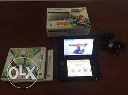 Nintendo 3ds XL with 3 game