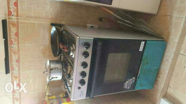 Newly used gas cooker and oven السيب -  1