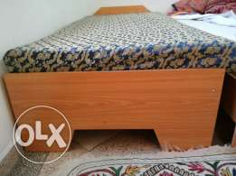 Single Bed For Sale With Free Mattress