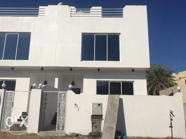 brand new villa for rent in al ghobra.