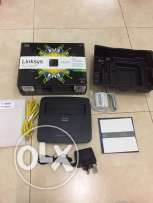 Linksys wifi router with ADSL modem