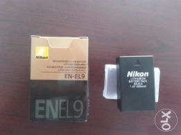 Nikon Battery EN-EL9 Rechargeable Lithium-ion Battery.