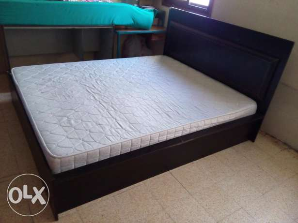 Master Bed with Mattress