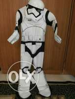 Complete star wars costume with mask