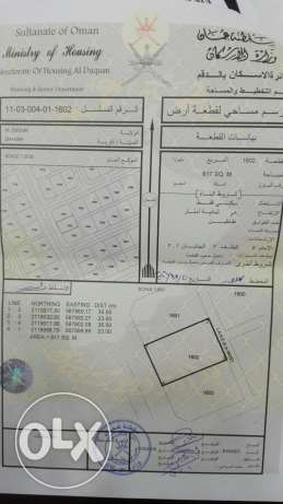 Land for Sale الدقم ظهر 2