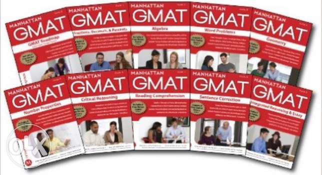 Complete GMAT Strategy Guide - Manhattan Prep GMAT - 8 books