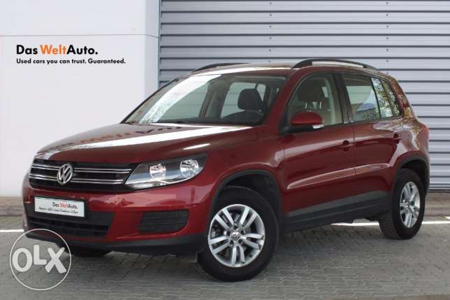 VW Tiguan 1.4 Blue Motion Checked and Certified