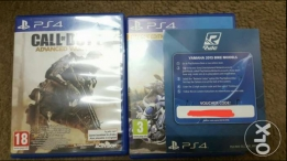 Call of duty: advanced warfare + free ride (with voucher code)