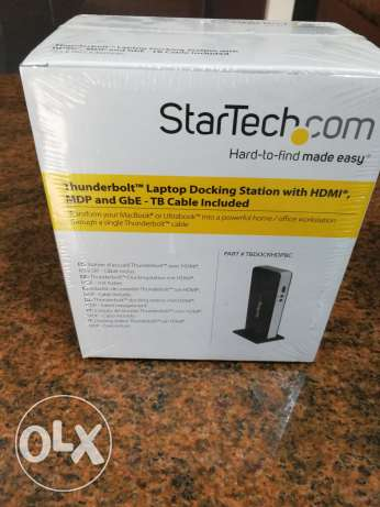Thunderbolt docking station