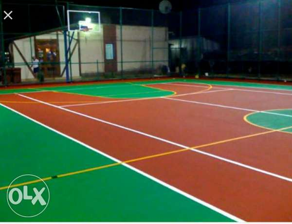 High Quality sports synthetic and rubber flooring