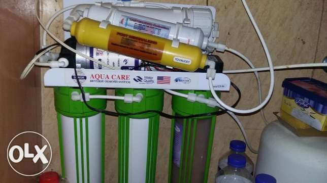 Six stage Aqua Care Water Purifier With RO system for urgent sale
