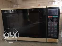 SHARP microwave oven with convection