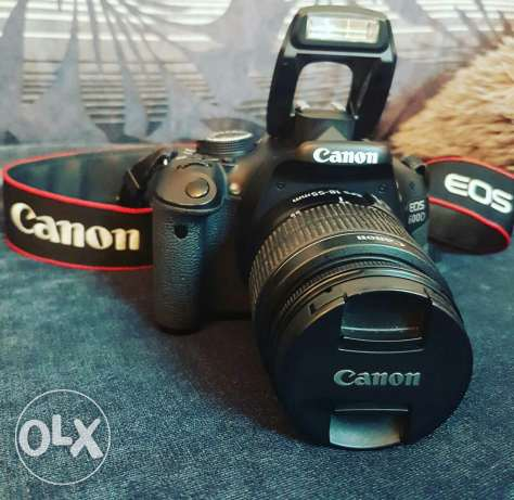 Canon 600D with 18-55mm lens مسقط -  1