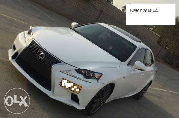 LEXUS is250 F 2014لكسز مسقط -  1