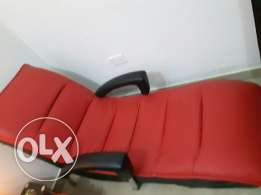 Red couch excellent condition