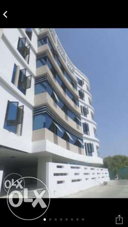 brand new quality flats for rent in al quurum opposit to the park
