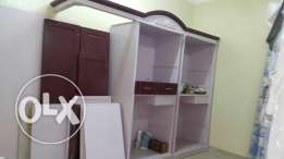 King size bedroom for sale with dresser, cupboard and 2 night stands