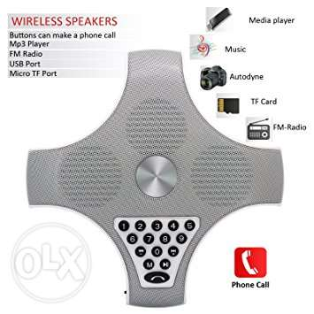 wireless speaker with dial -bluetooth, mp3