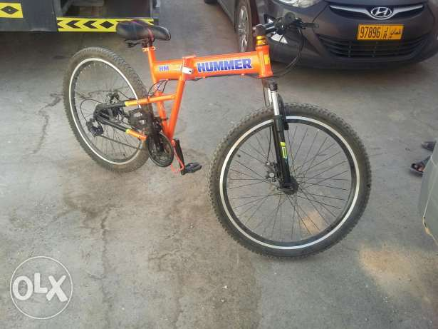 Hummer mountain bike.
